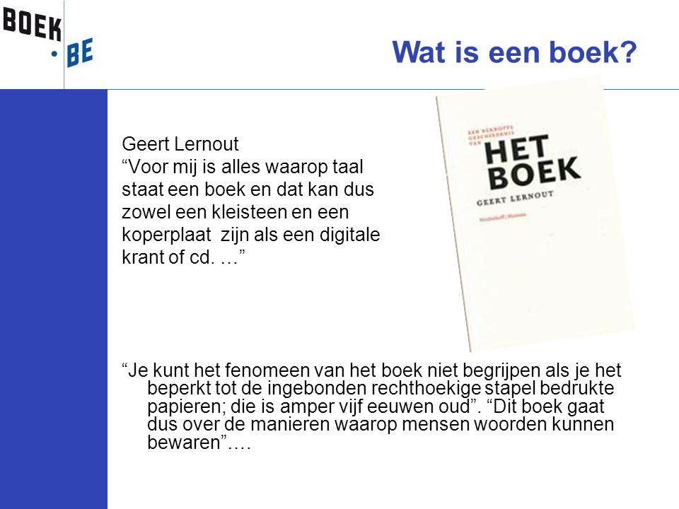Wat is een boek Geert Lernout Voor mij is alles waarop taal