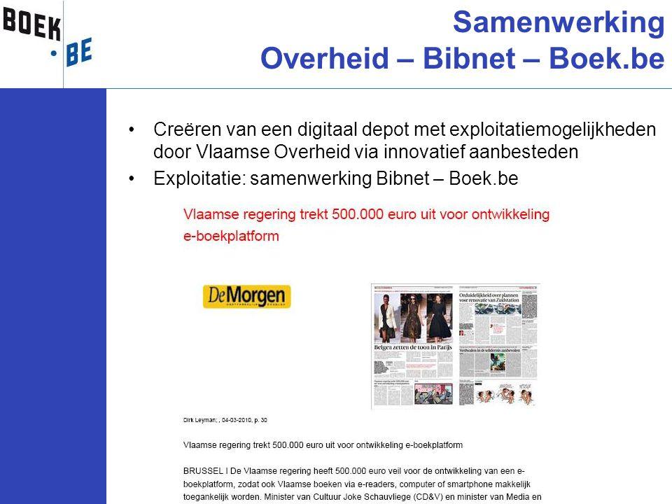 Samenwerking Overheid – Bibnet – Boek.be