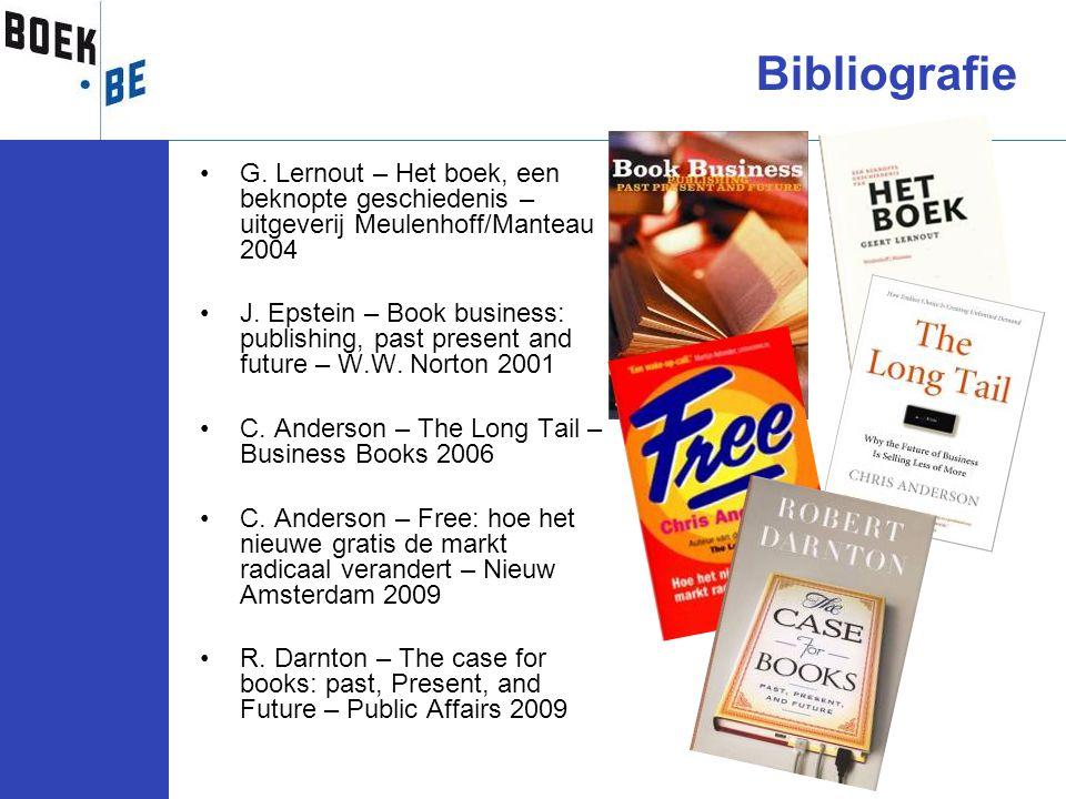 Bibliografie G. Lernout – Het boek, een beknopte geschiedenis – uitgeverij Meulenhoff/Manteau 2004.