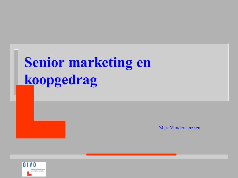 Senior marketing en koopgedrag