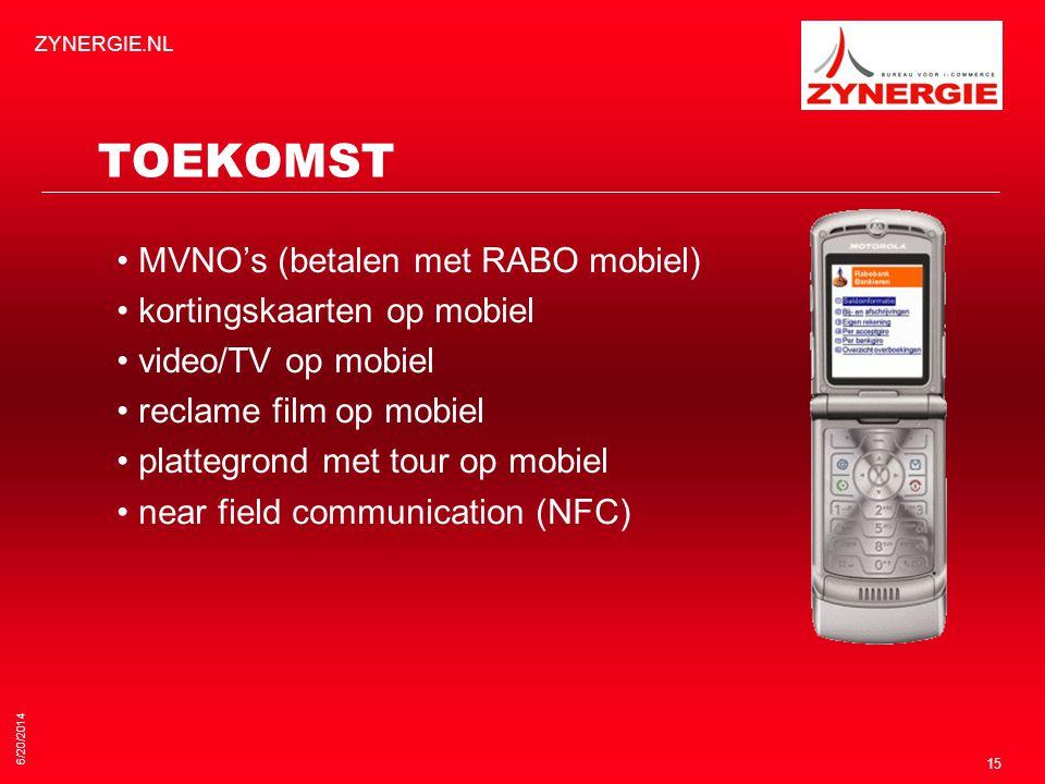 TOEKOMST • MVNO's (betalen met RABO mobiel)