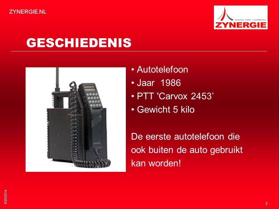 GESCHIEDENIS • Autotelefoon • Jaar 1986 • PTT Carvox 2453'