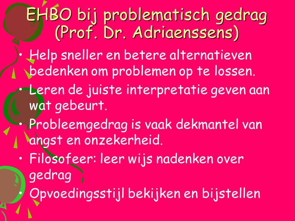 EHBO bij problematisch gedrag (Prof. Dr. Adriaenssens)