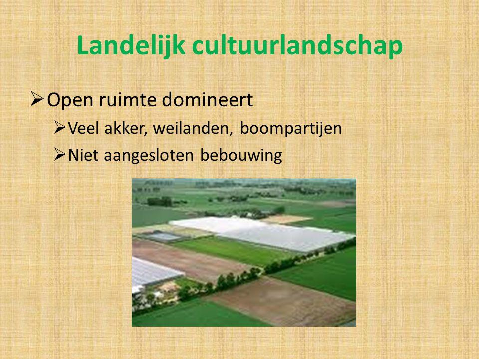 Landelijk cultuurlandschap