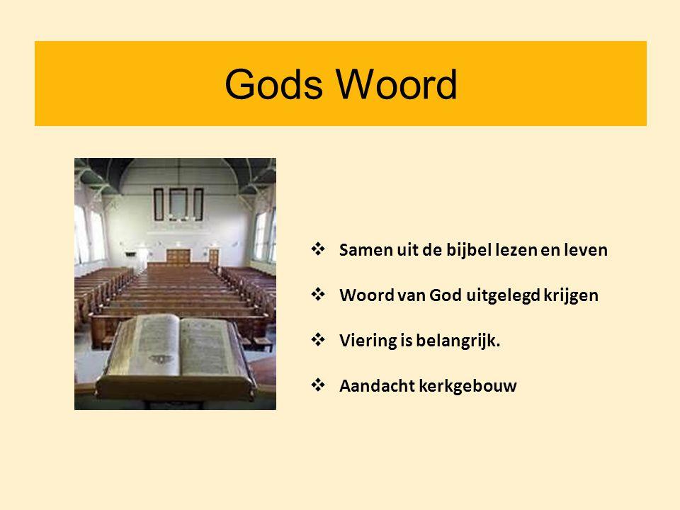 Gods Woord Samen uit de bijbel lezen en leven