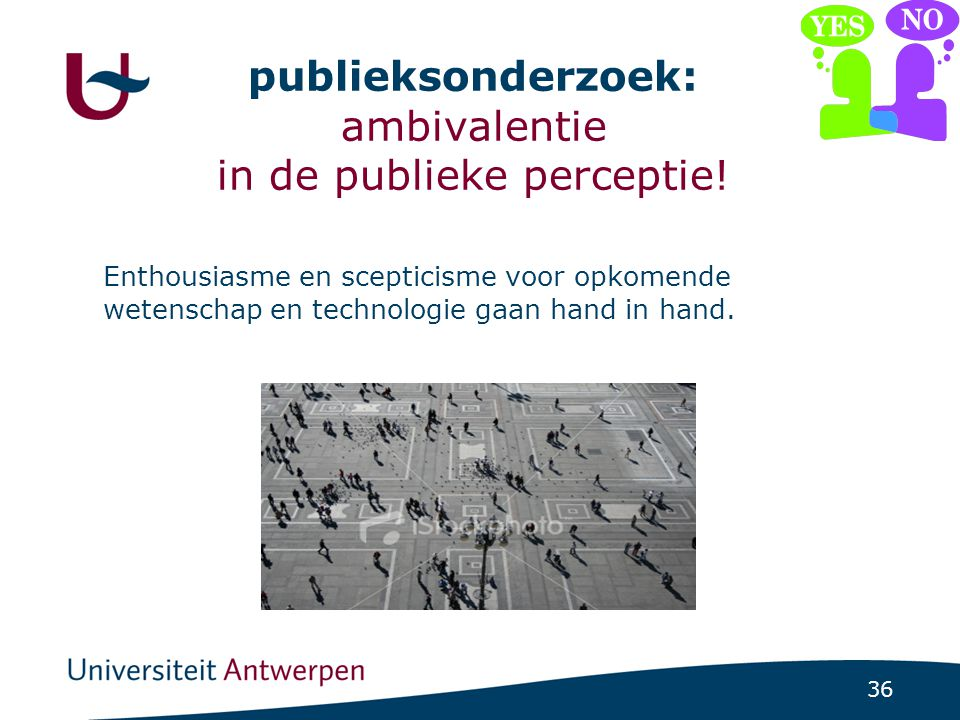 ambivalentie bij burgers ….