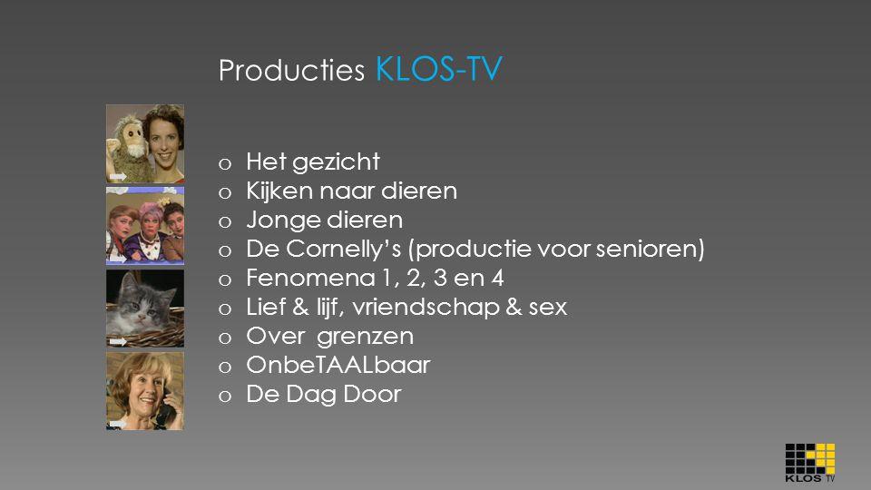 Producties KLOS-TV Het gezicht Kijken naar dieren Jonge dieren