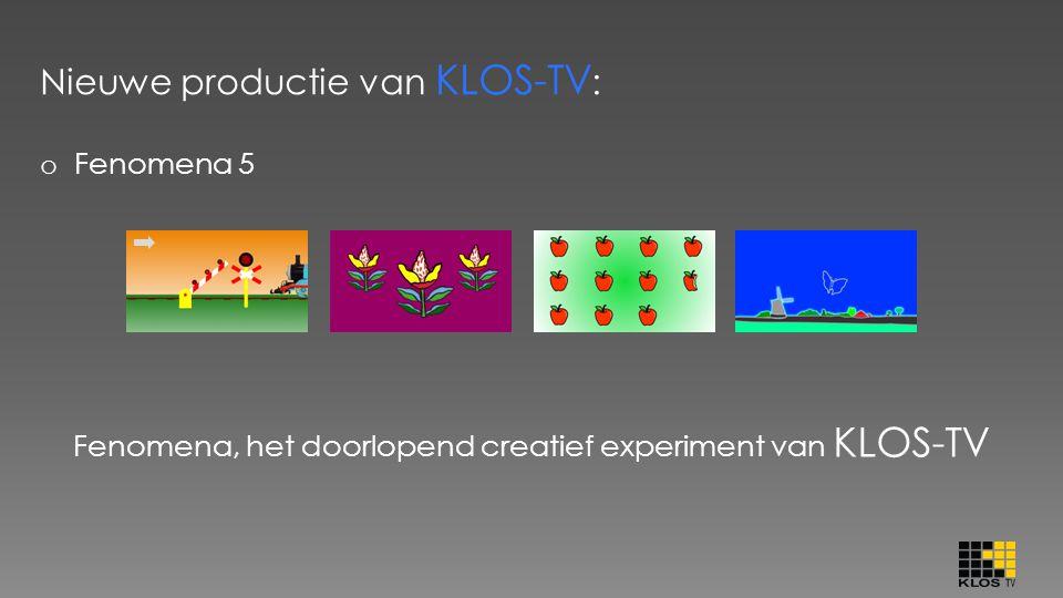 Nieuwe productie van KLOS-TV: