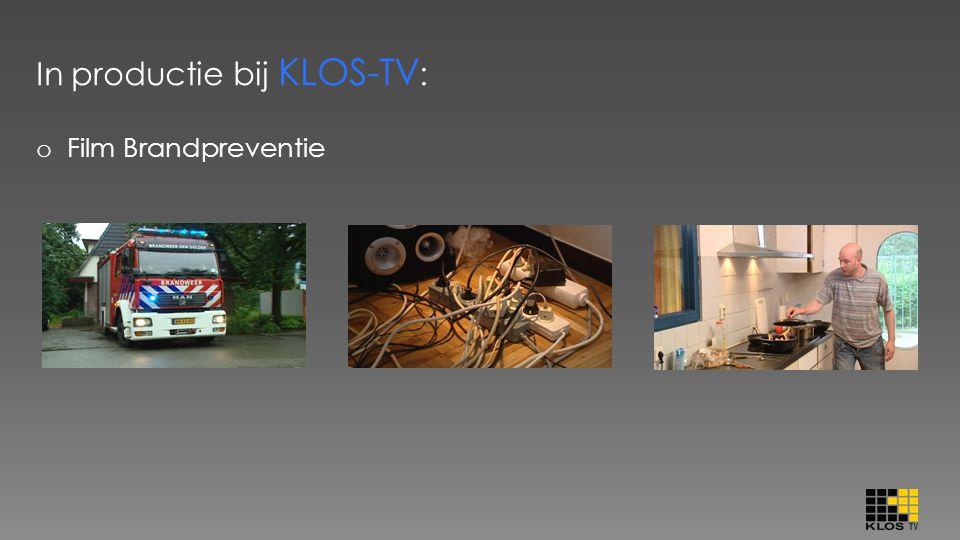 In productie bij KLOS-TV: