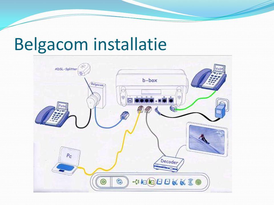 Belgacom installatie