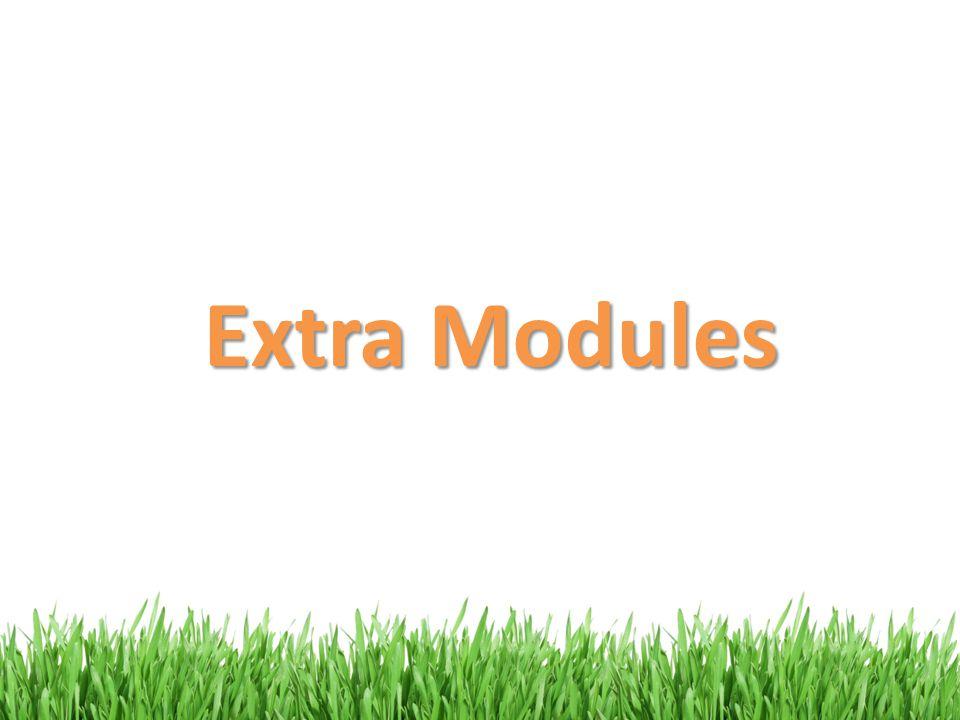 Extra Modules