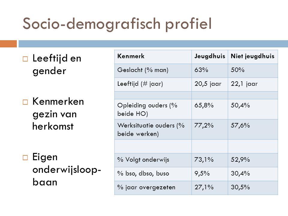 Socio-demografisch profiel