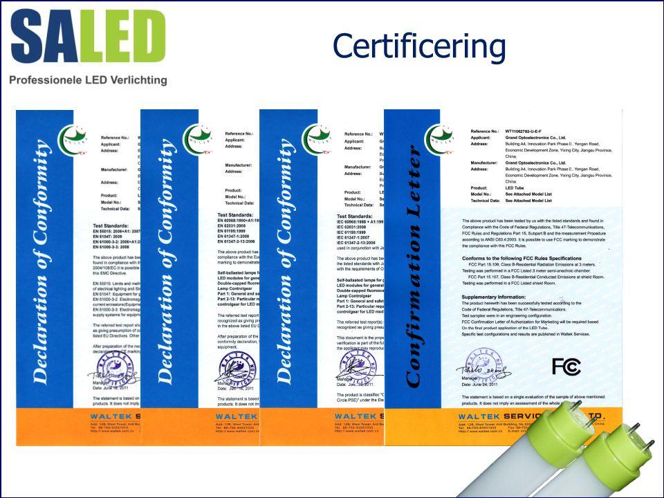 Certificering ,