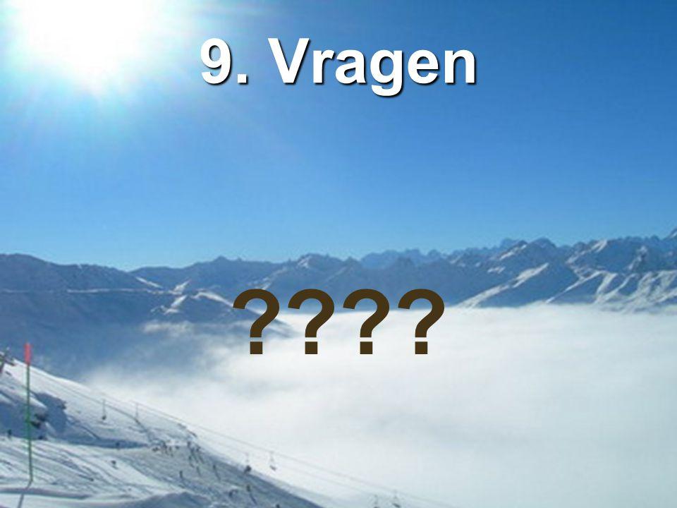 9. Vragen