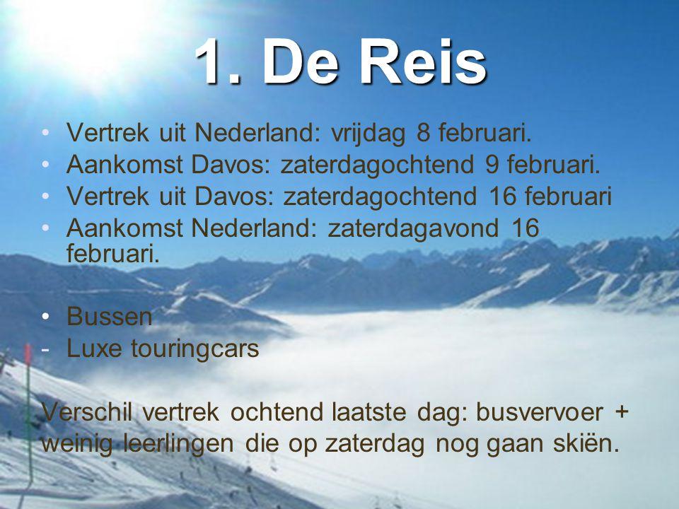 1. De Reis Vertrek uit Nederland: vrijdag 8 februari.