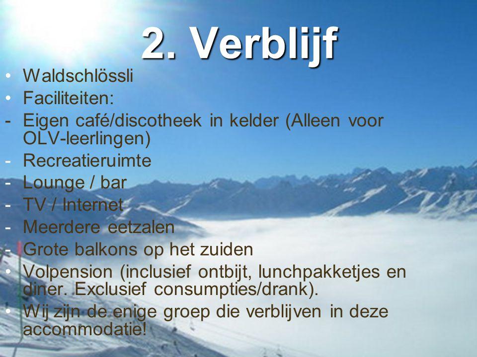 2. Verblijf Waldschlössli Faciliteiten: