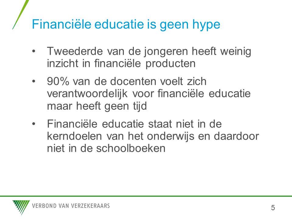 Financiële educatie is geen hype