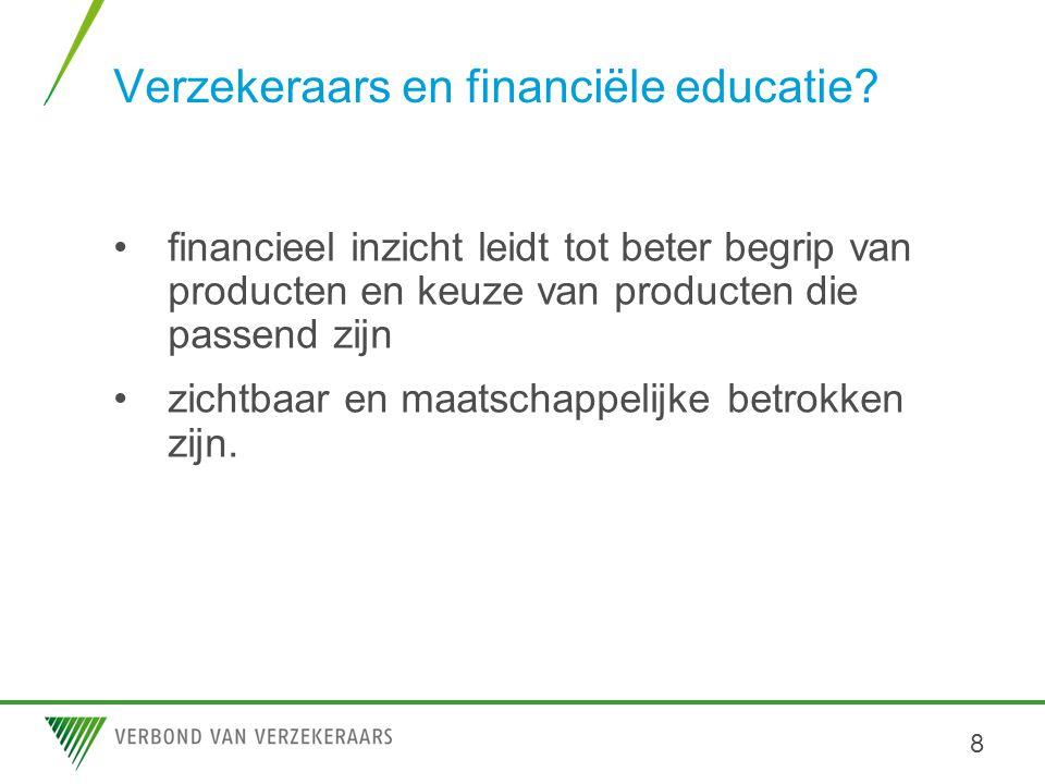 Verzekeraars en financiële educatie