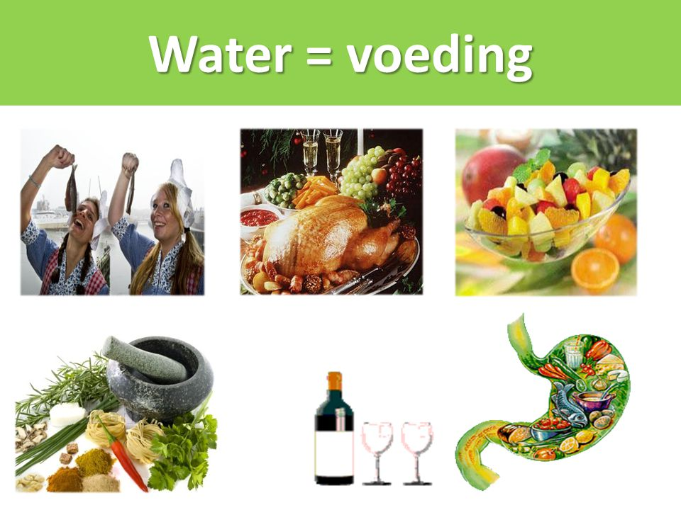 Water = voeding