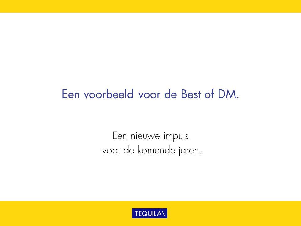 Een voorbeeld voor de Best of DM.