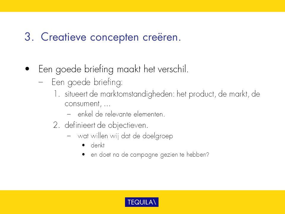 3. Creatieve concepten creëren.
