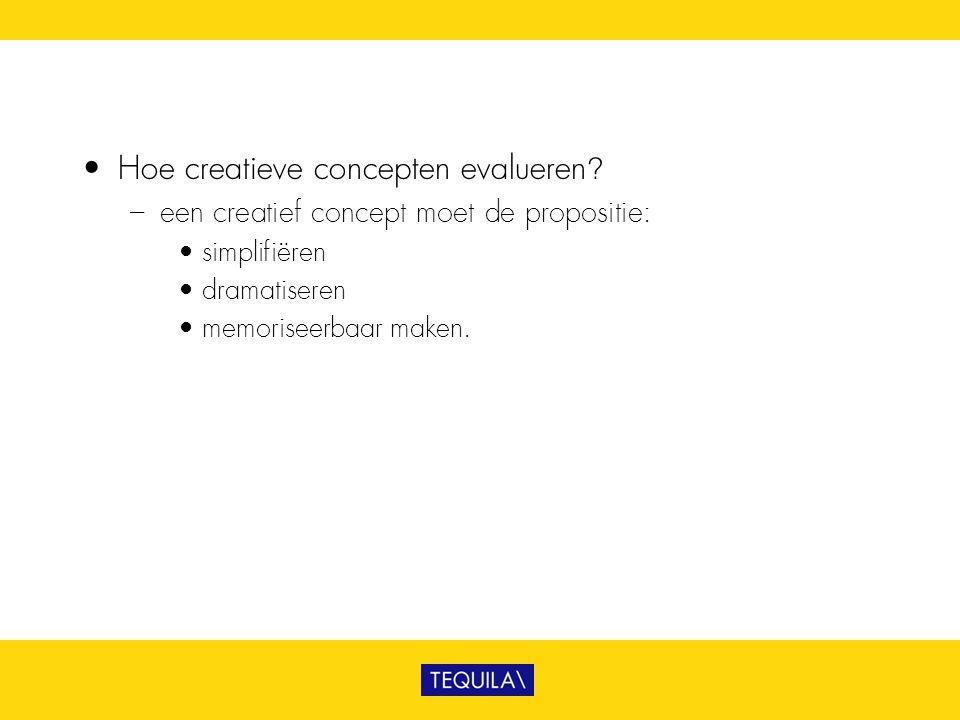 Hoe creatieve concepten evalueren