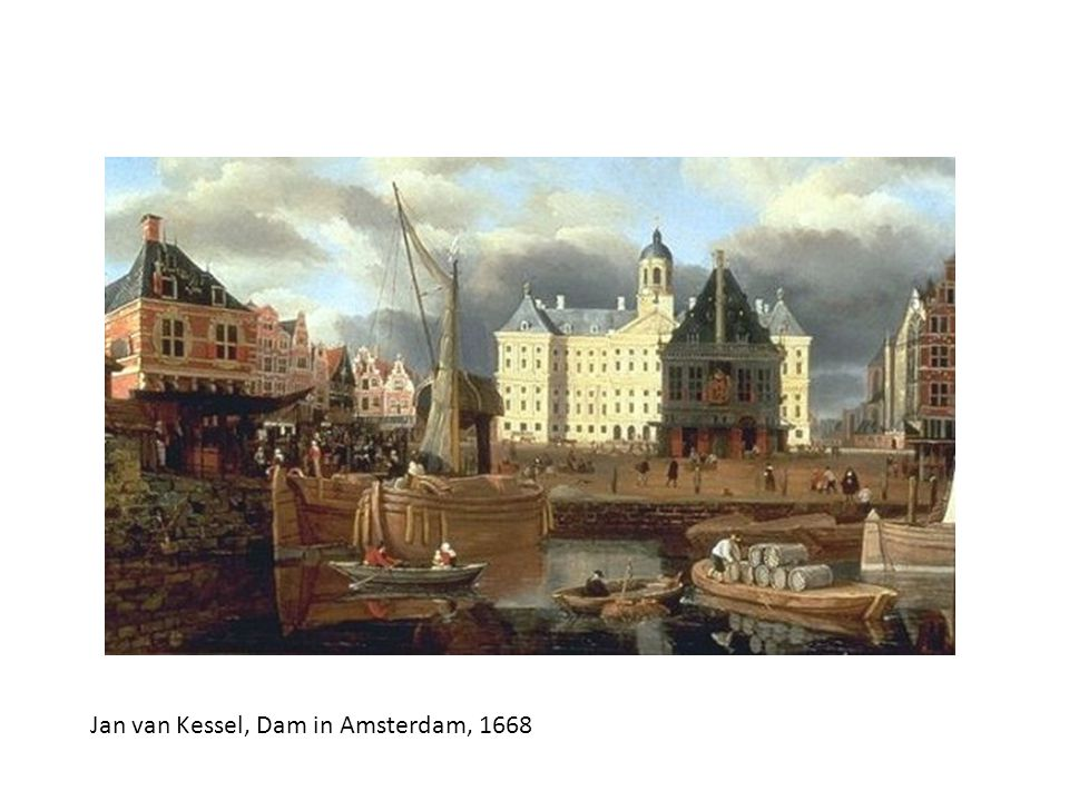Jan van Kessel, Dam in Amsterdam, 1668
