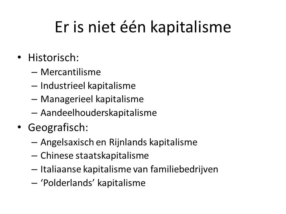 Er is niet één kapitalisme