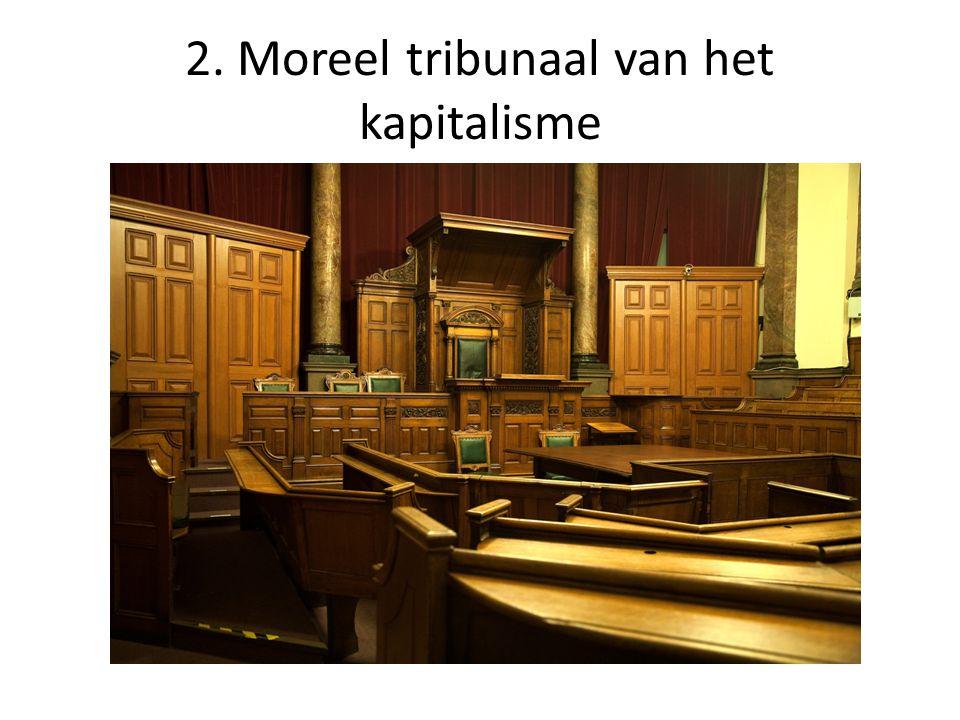 2. Moreel tribunaal van het kapitalisme