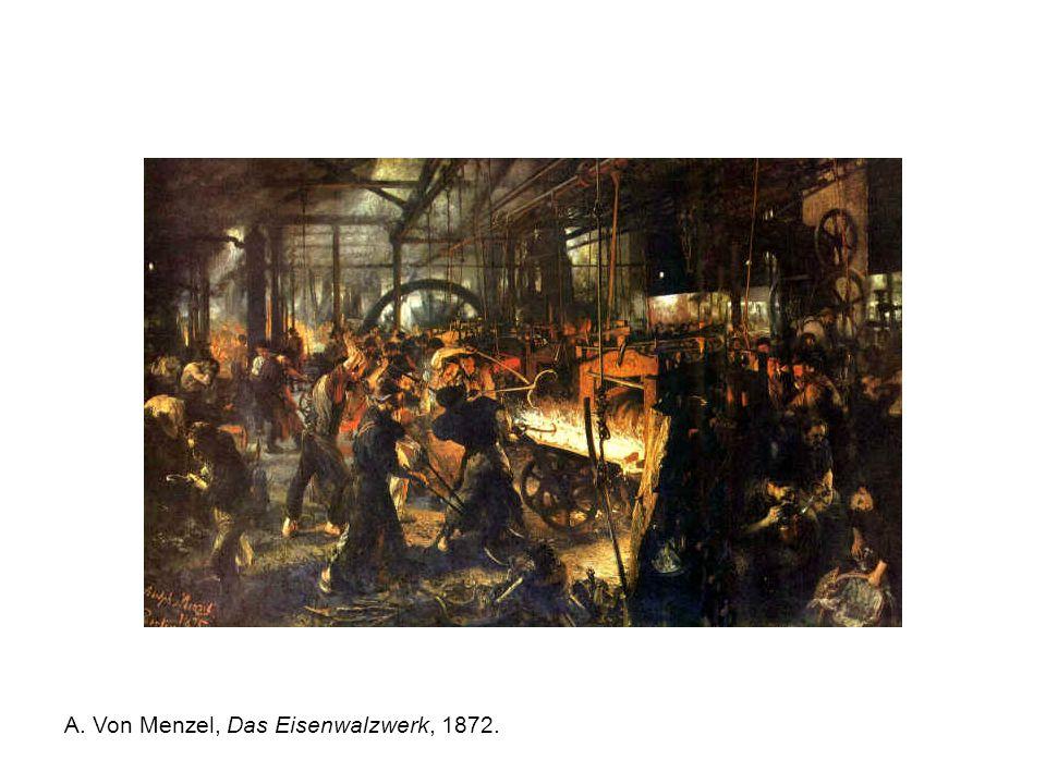 A. Von Menzel, Das Eisenwalzwerk, 1872.