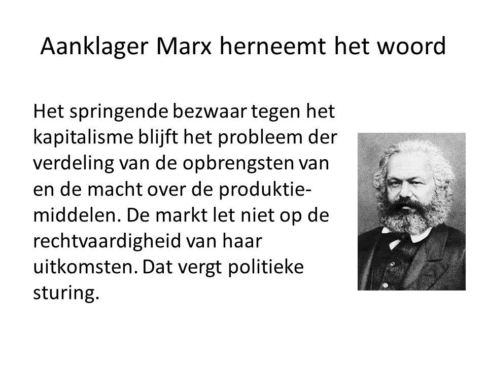 Aanklager Marx herneemt het woord