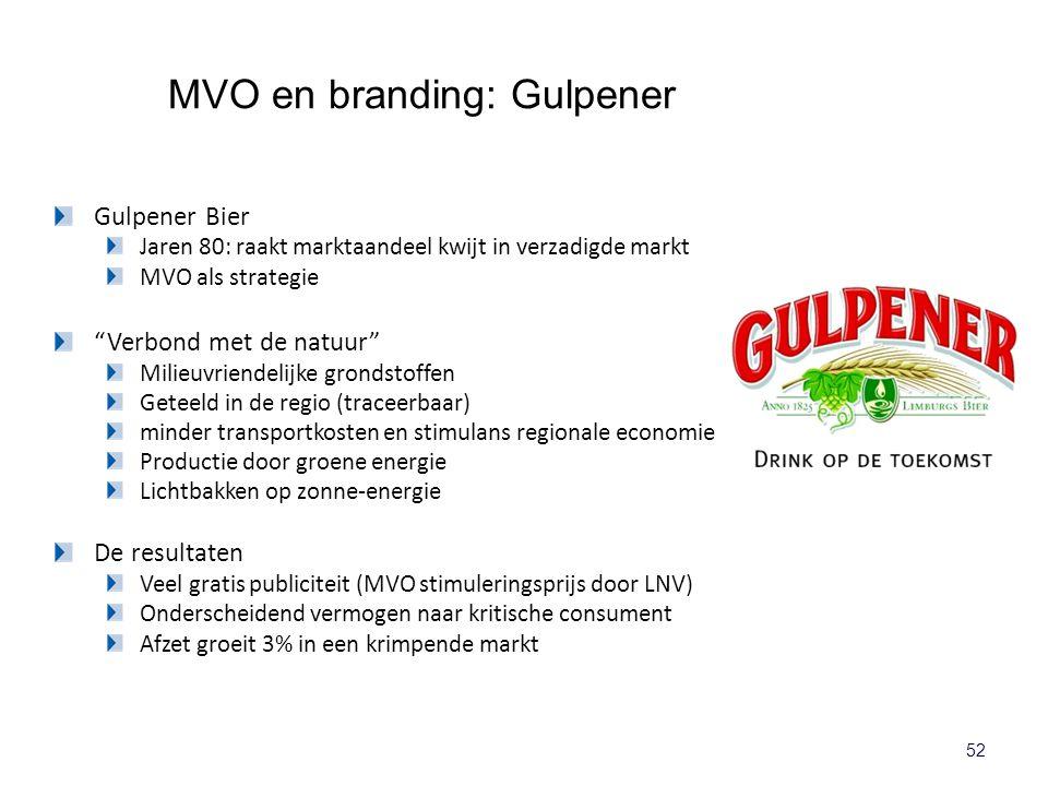 MVO en branding: Gulpener