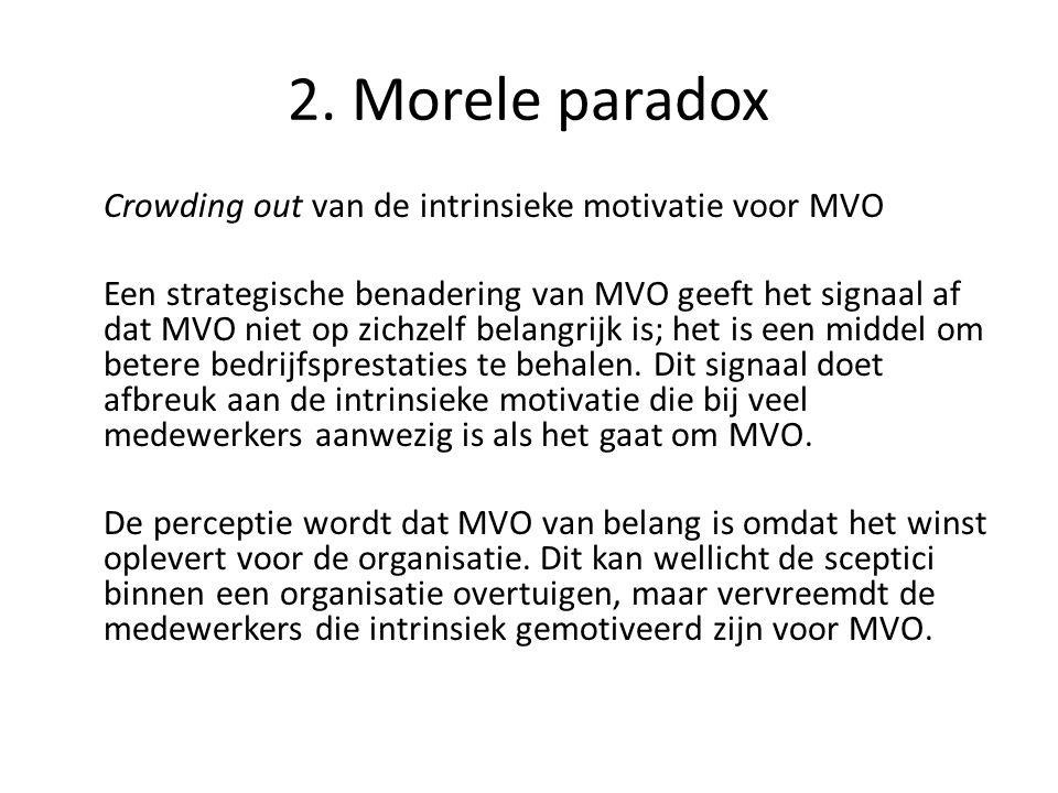 2. Morele paradox