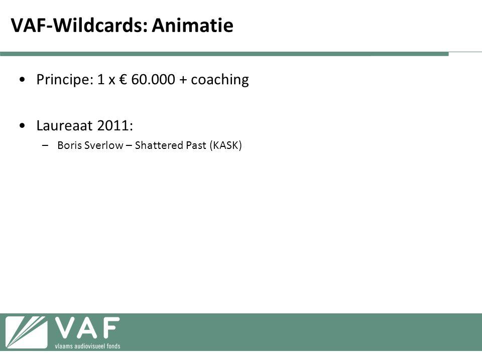 VAF-Wildcards: Animatie
