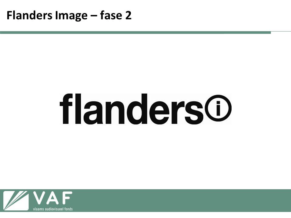 Flanders Image – fase 2 Klikken op flanders (i) logo om demo van fase 2 website te laten beginnen