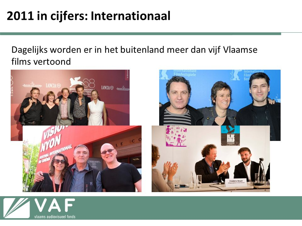 2011 in cijfers: Internationaal