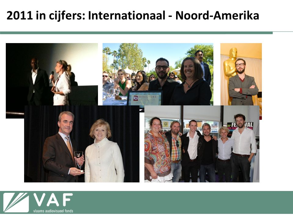 2011 in cijfers: Internationaal - Noord-Amerika