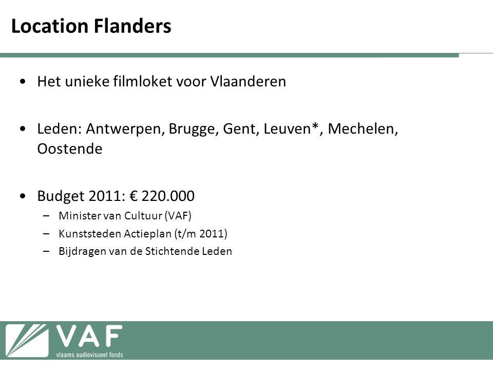 Location Flanders Het unieke filmloket voor Vlaanderen