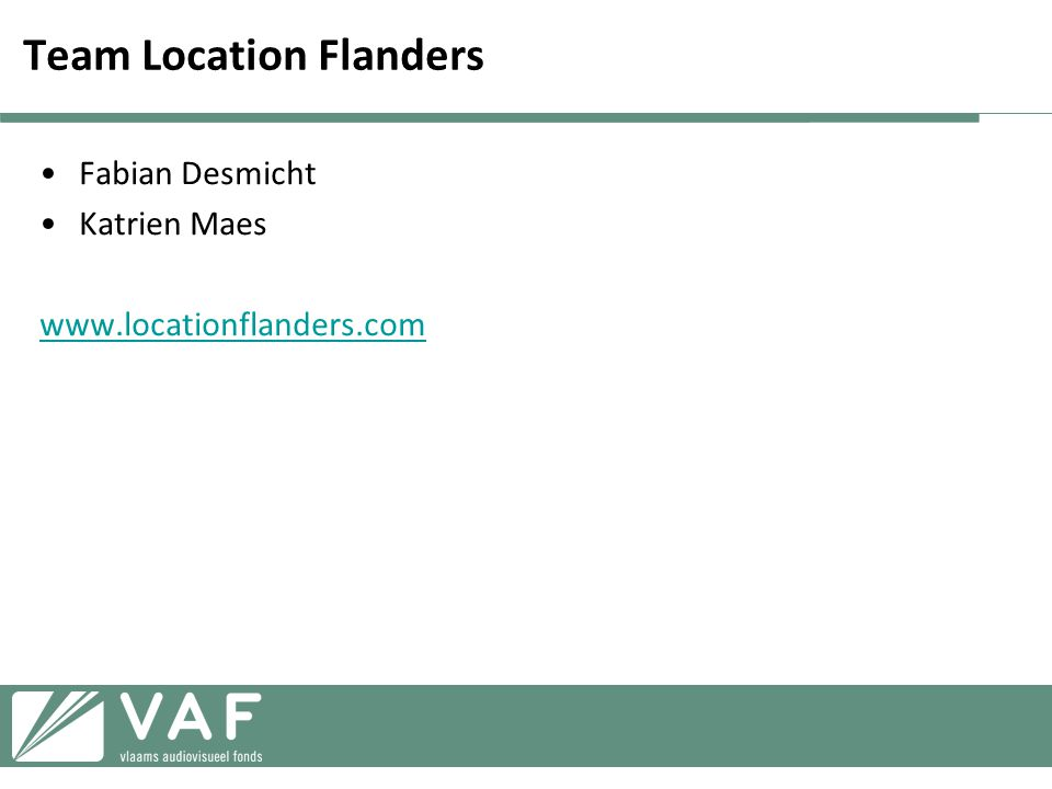 Team Location Flanders