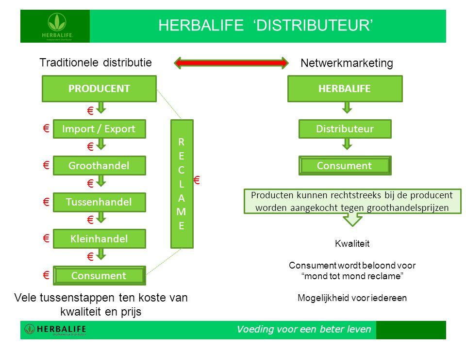 HERBALIFE 'DISTRIBUTEUR'