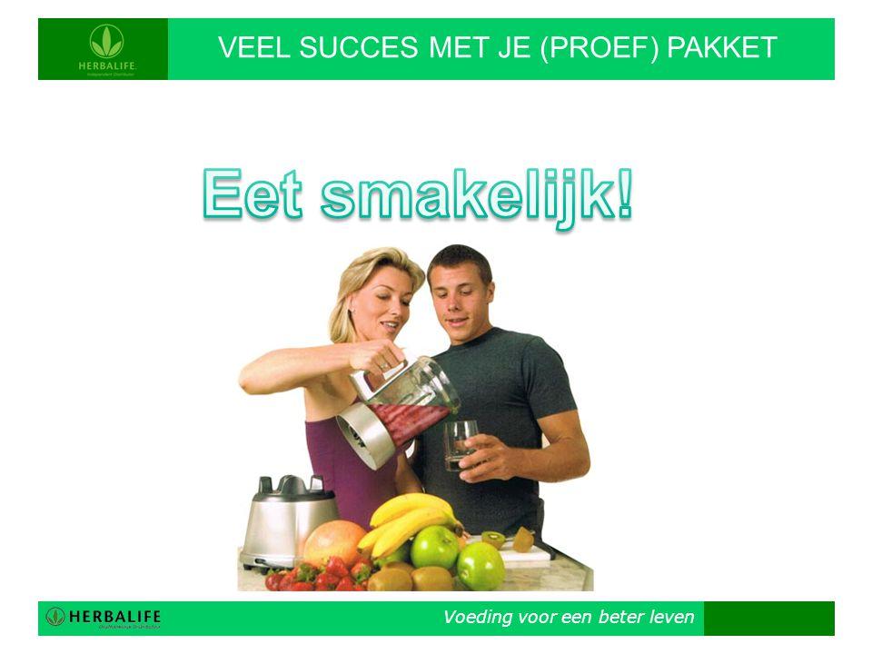 VEEL SUCCES MET JE (PROEF) PAKKET