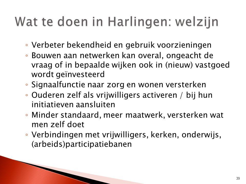 Wat te doen in Harlingen: welzijn