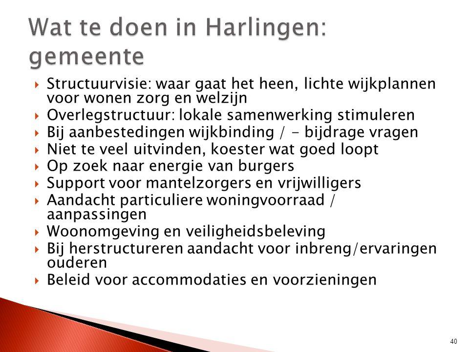 Wat te doen in Harlingen: gemeente