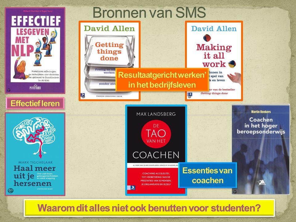 Bronnen van SMS Waarom dit alles niet ook benutten voor studenten