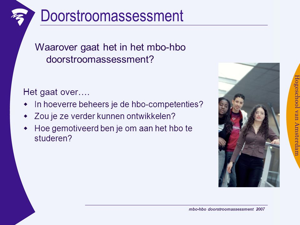 Doorstroomassessment