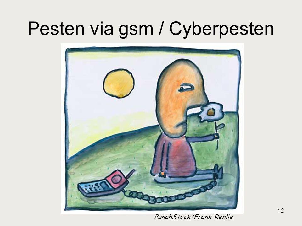 Pesten via gsm / Cyberpesten