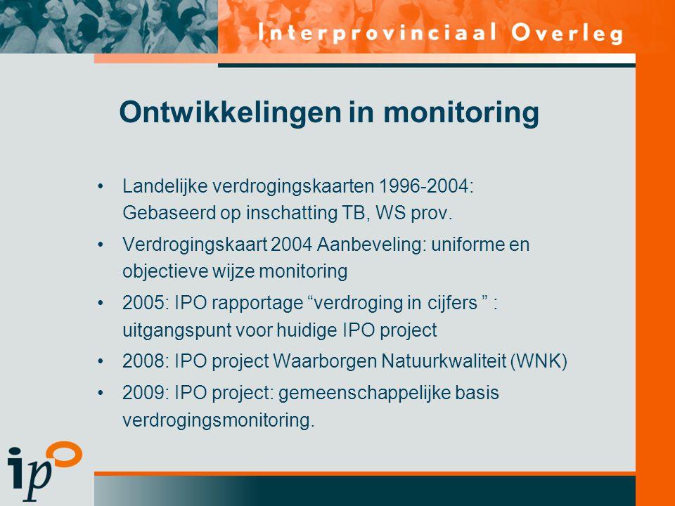 Ontwikkelingen in monitoring
