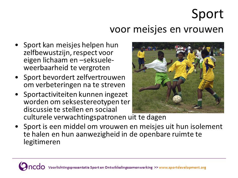 Sport voor meisjes en vrouwen