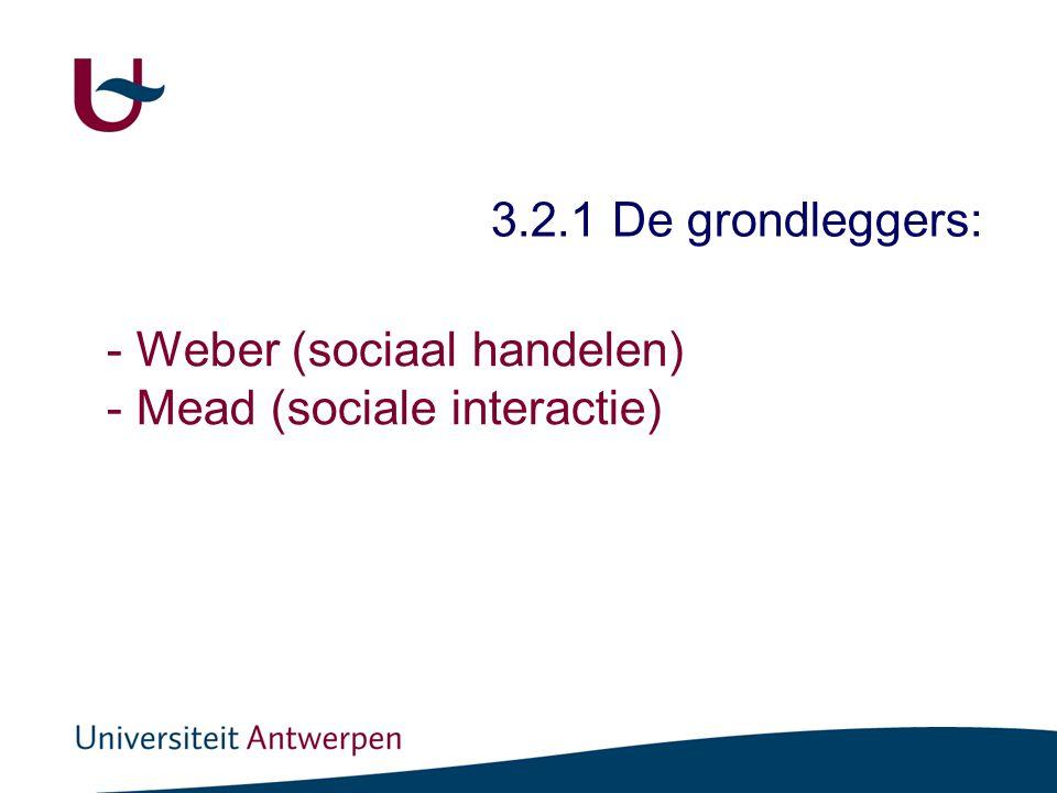 Sociale orde bestaat uit het delen van betekenissen en zingeving.