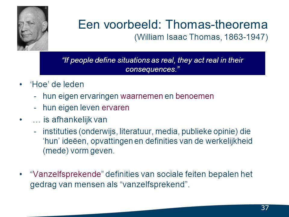 3.2.3 De etnomethodologie (Harold Garfinkel (1917- …)